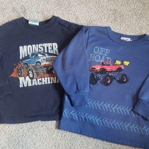 2 monster truck tops
